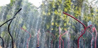 Wassersprinkler für Kinder