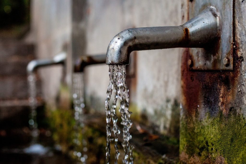 Wassermengenzähler - Wasserverschwendung